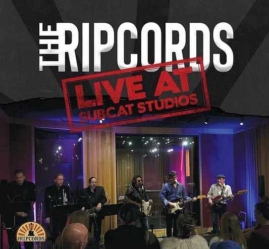 The ripcords Live at SubCat Studios