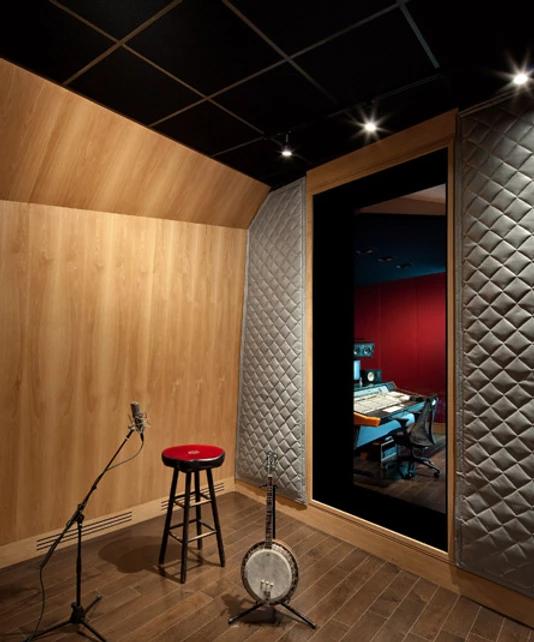 Studio B Tracking Room
