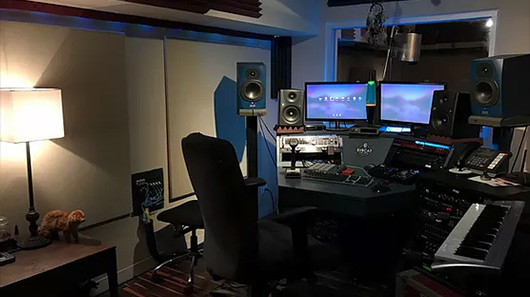 Studio C Control Room at SubCat Studios
