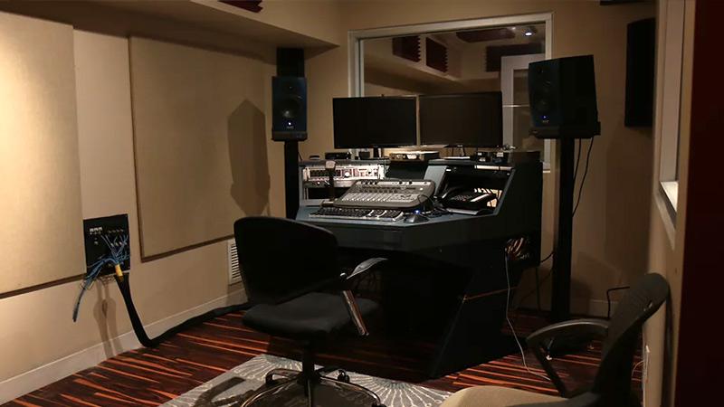 Studio C Control Room at SubCat Studios