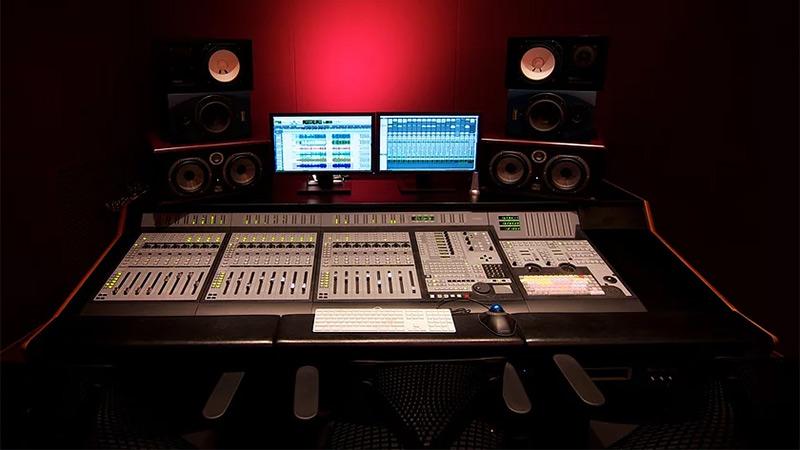 Studio B Control Room at SubCat Studios