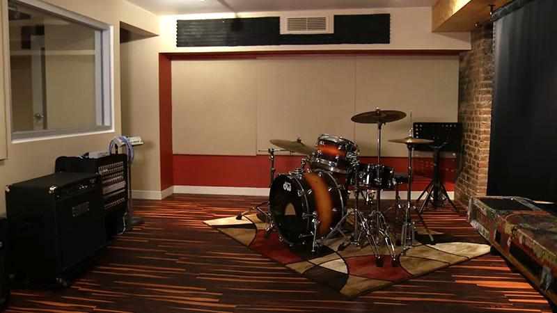 Studio C Recording Space at SubCat Studios